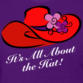 It's all about the hat!