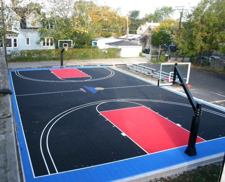 How Much Does A Backyard Basketball Court Cost Basketball Court