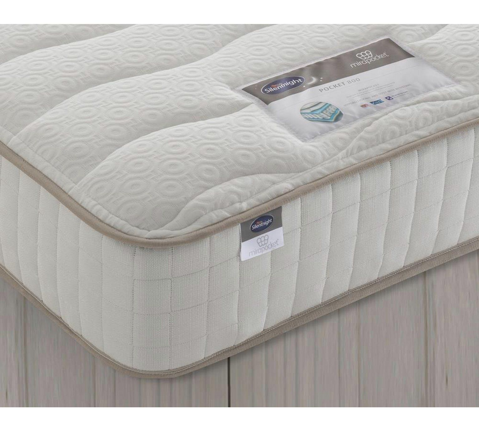 Buy Silentnight Bingley 800 Pocket Mattress Double