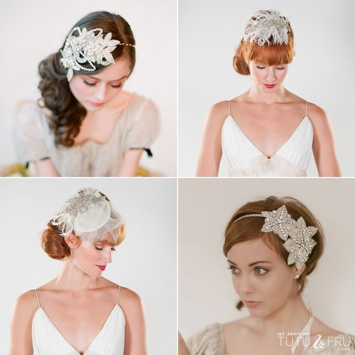 vancouver wedding blog gatsby inspired hair accessories