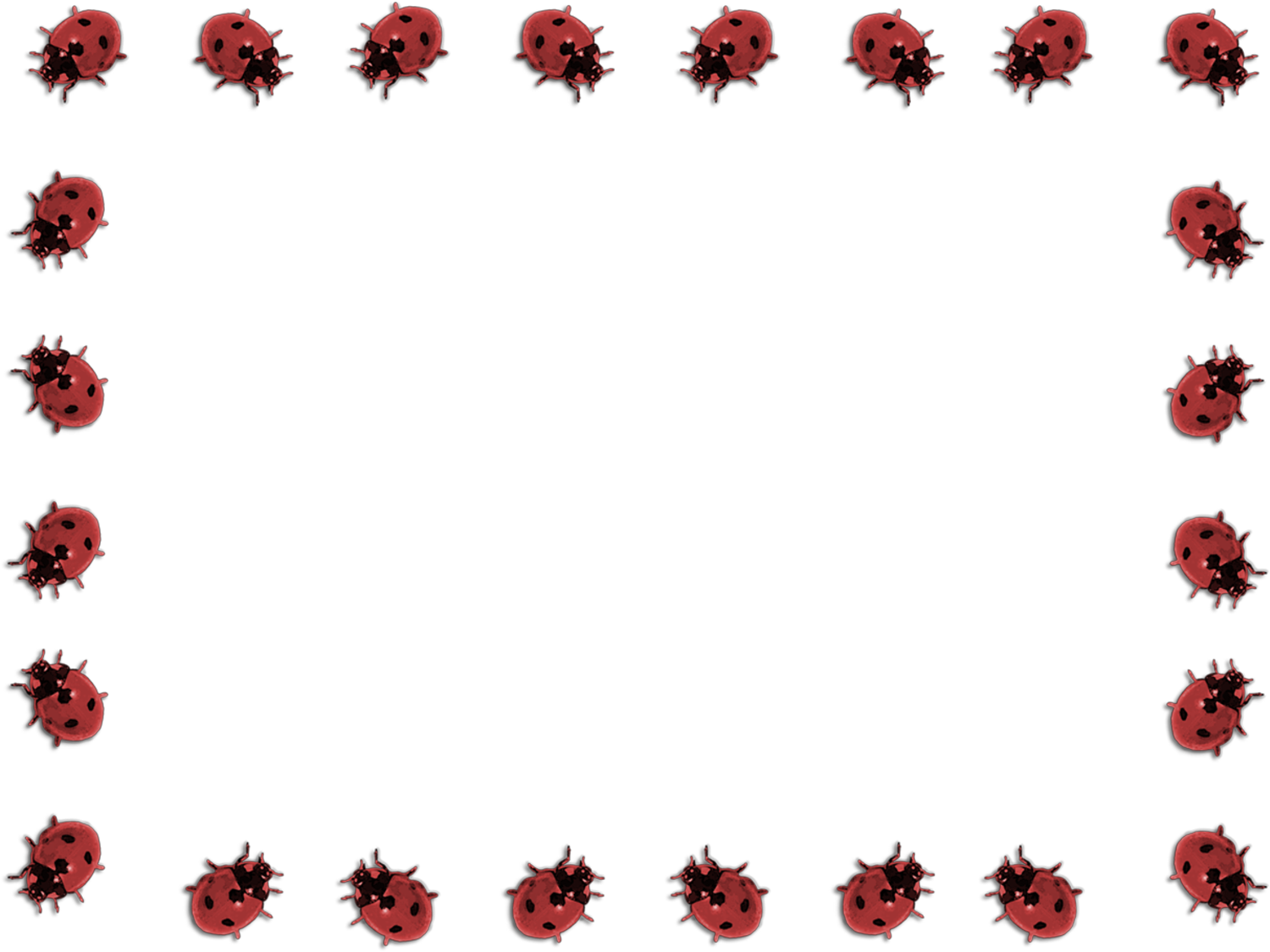 template for a ladybug free powerpoint design template
