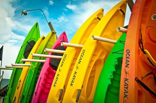kayaks! New fav sport!