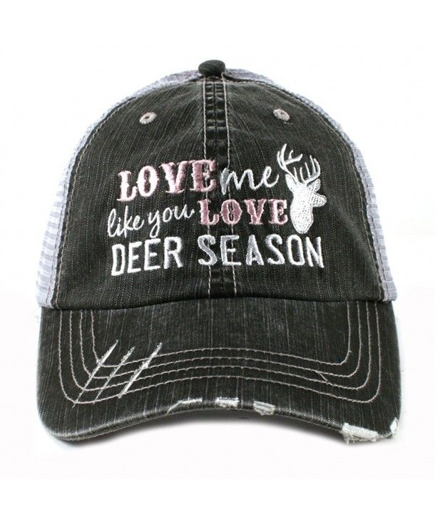 Download Love Me Like You Love Deer Season Hunting Women's Trucker ...
