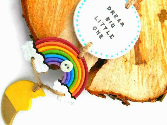 A Rainbow of Colour by Sian Headley on Etsy