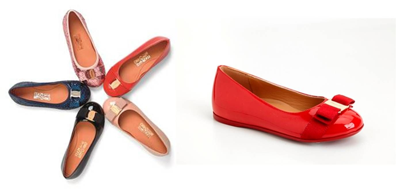 Originally Designed For Audrey Hepburn And Now Available For Children Ferragamo Shoes Ferragamo Salvatore Ferragamo Flats Ferragamo Flats