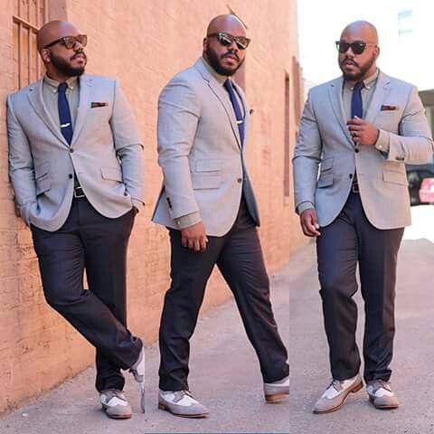 Notoriously Dapper Blog Big Handsome Stylish Man Clothes For Big Men Big Men Fashion Mens Outfits