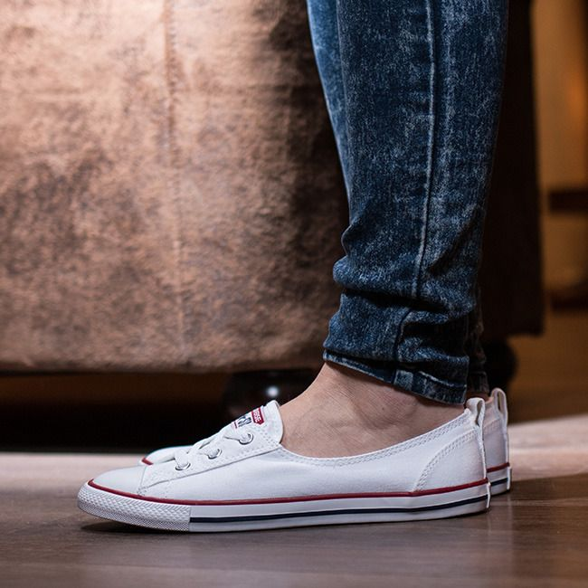 0b1a09f45ba9a7 Women s Shoes sneakers Converse Chuck Taylor All Star Ballet Lace Slip  549397C - Sneakerstudio.eu