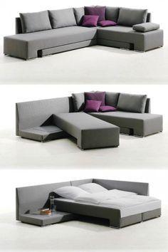 20 Pieces Of Convertible Furniture You Ll Actually Use Idees De Meubles Mobilier De Salon Et Idees De Lit