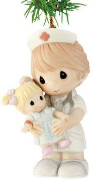 precious moments nurse ornament add a touch of whimsy to your