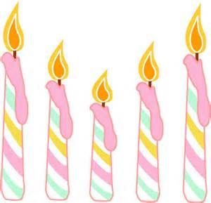 Birthday Candles Clip Art