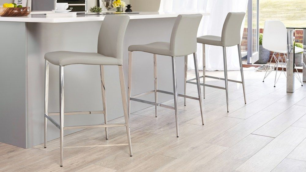 Modern Grey Bar Stools.Elise Bar Stool In 2019 Grey Bar Stools Bar Stools With