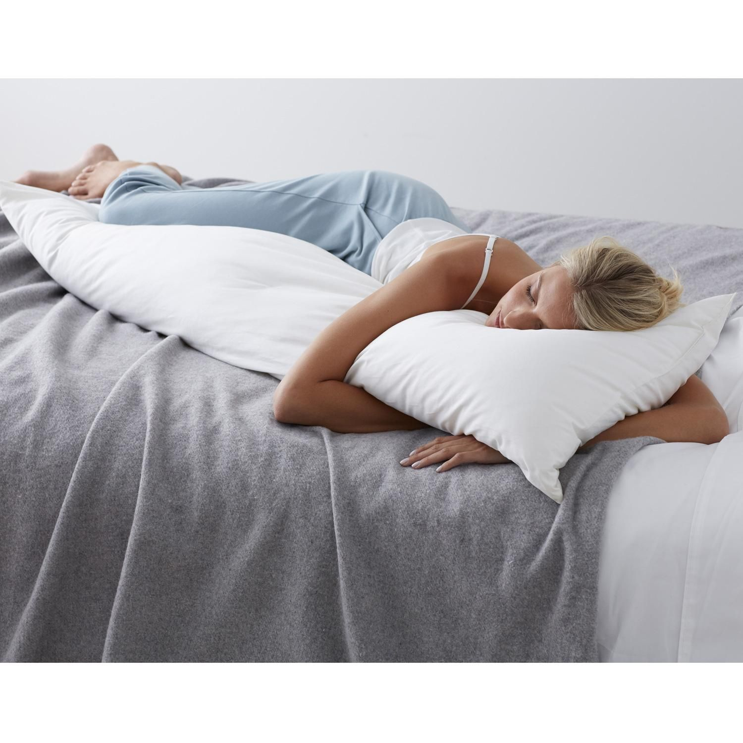 Tcs Down Free Fill Body Pillow Medium Firmness At The Company