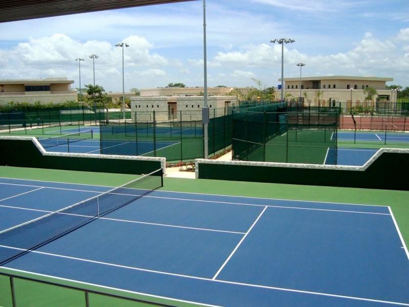 Cancha de tenis, ¡A ejercitarse!