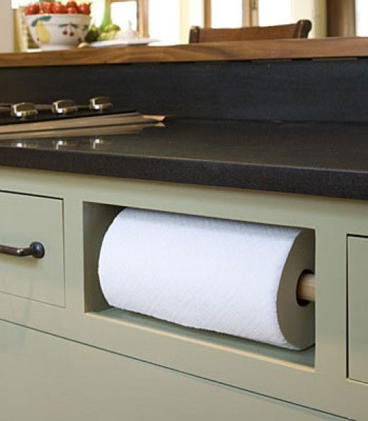 Small Kitchen Organizing Ideas | Click Pic for 20 DIY Kitchen Organization Ideas Replace Drawer with Paper Towel Holder