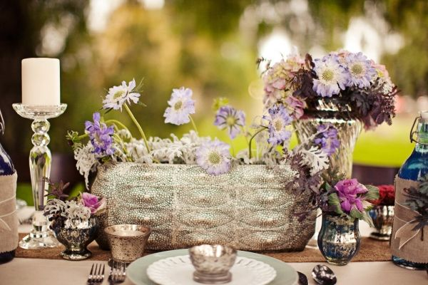 Bohemian Tablescape Inspiration Shoot