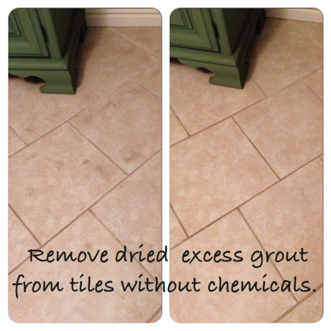 How To Get Grout Off Of Tile When It S Dry