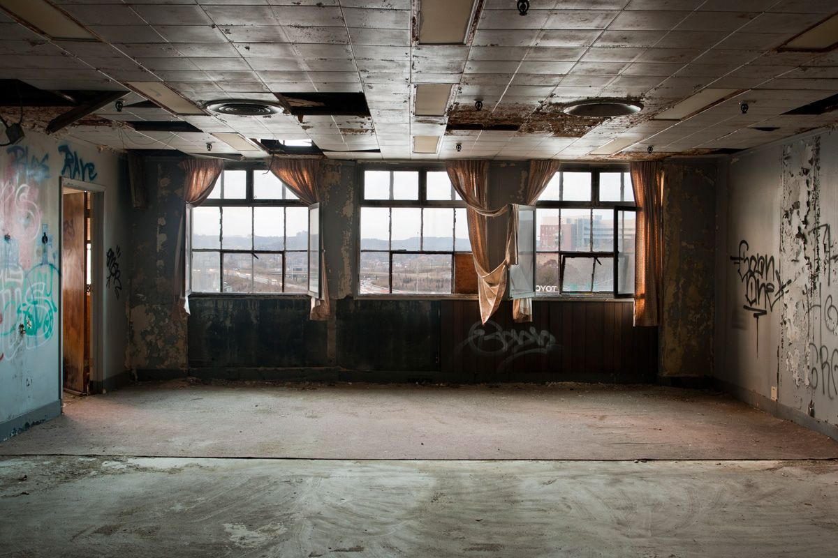 Abandoned building inside
