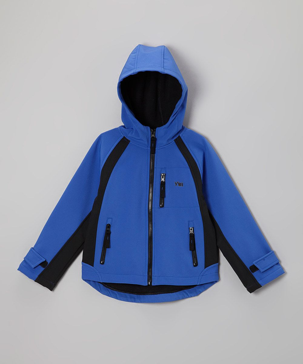 Take a look at this Royal Soft-Shell Hooded Jacket - Infant, Toddler & Boys on zulily today! $22.99, lots of colors, styles.