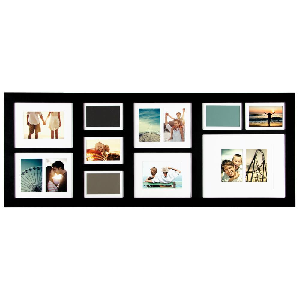 Better Homes And Gardens 4 Opening Rustic Windowpane Collage Frame