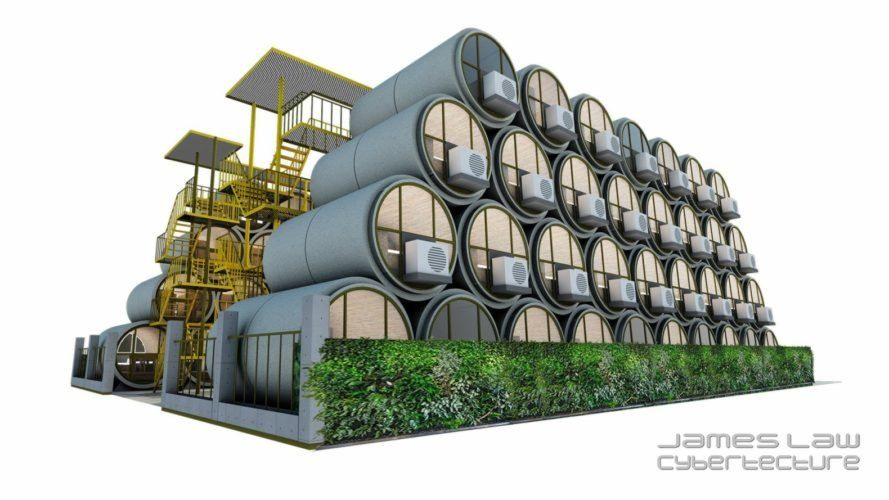 Tiny Homes Made Of Concrete Pipes Could Be The Next Big Thing In Micro Housing Micro House House And Home Magazine Modular Homes