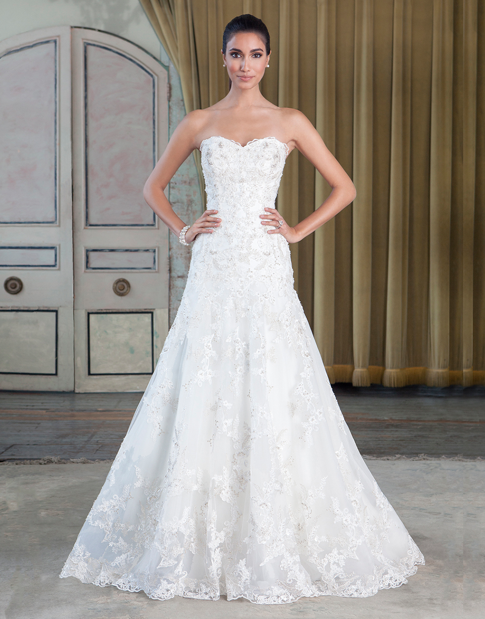 Justin alexander signature wedding dresses style beaded corded
