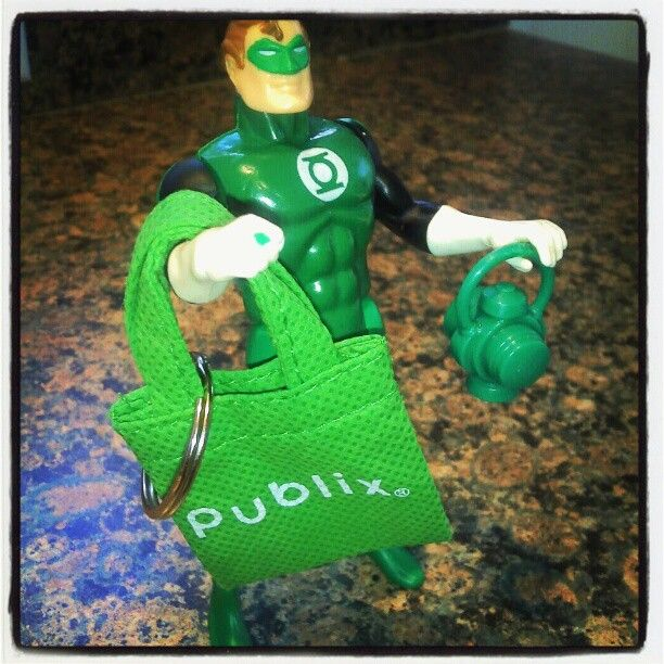 Where does the Green Lantern shop? Publix, of course