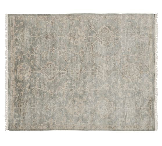 Adelaide Persian Style Rug Pottery Barn 1299 For 8 X10 Only Size Available Not Sure If It S Woven Or Tufted