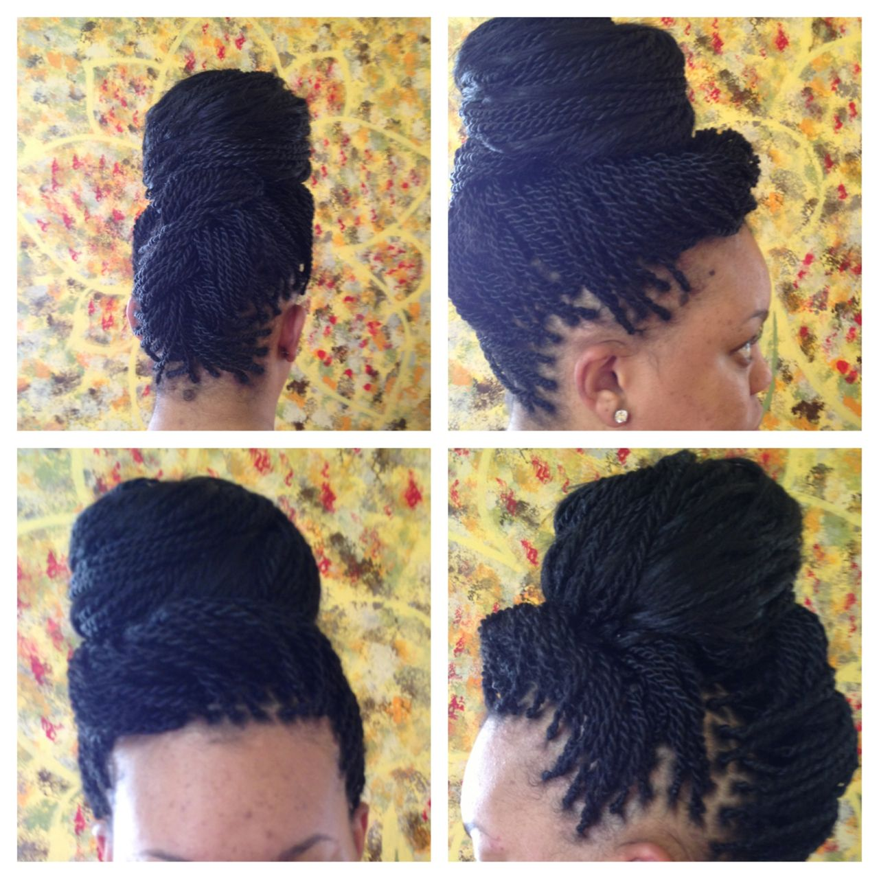 soulbeauti — senegalese twist in an updo | hair!!!! in 2019