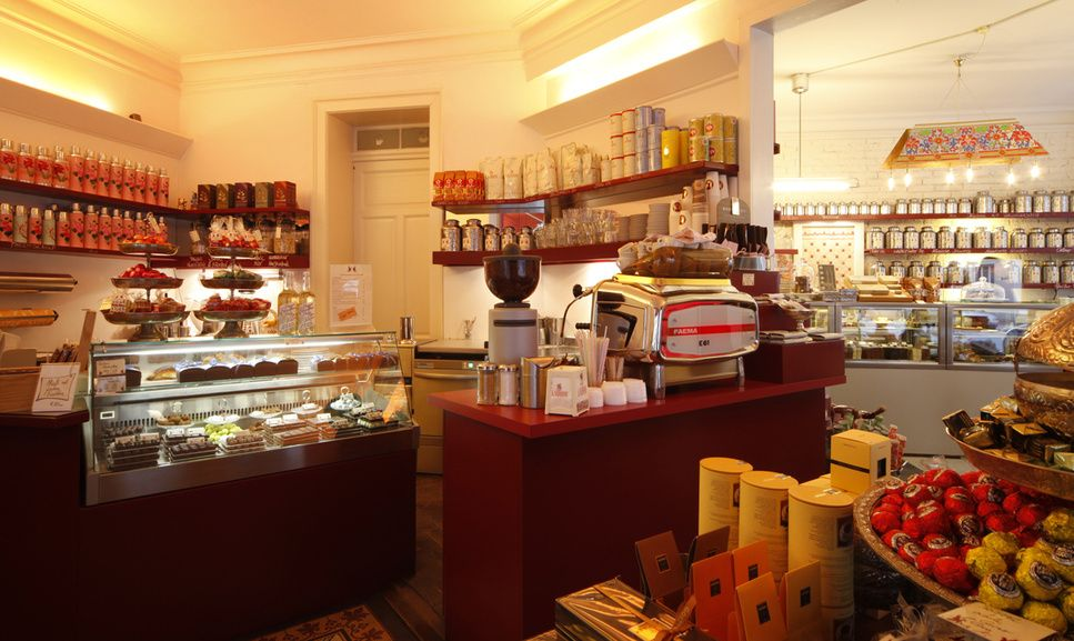 GÖTTERSPEISE CAFÉ MUNICH - Lovely Chocolaterie \ Café München