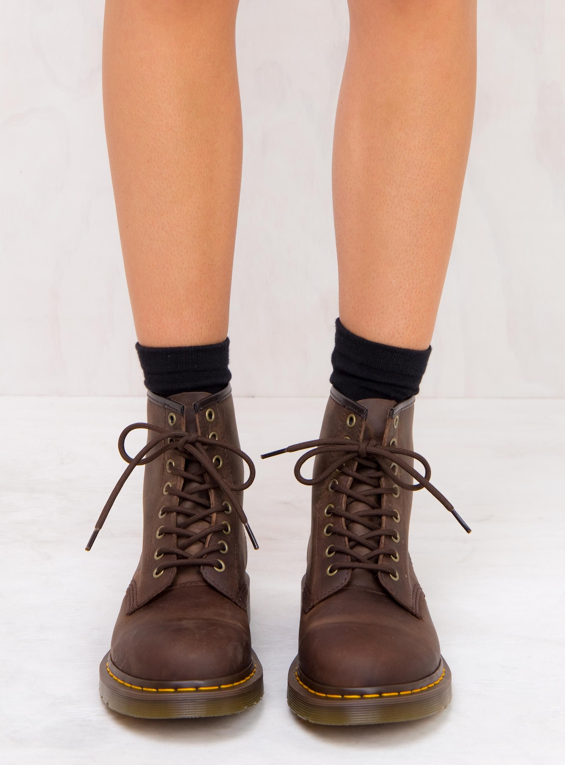 Dr. Martens 1460 Gaucho Crazy Horse Boots | Women shoes