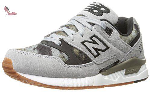 acheter en ligne 436f6 16d55 New Balance W530bnb, Sneakers basses femme, Grey (Silver ...