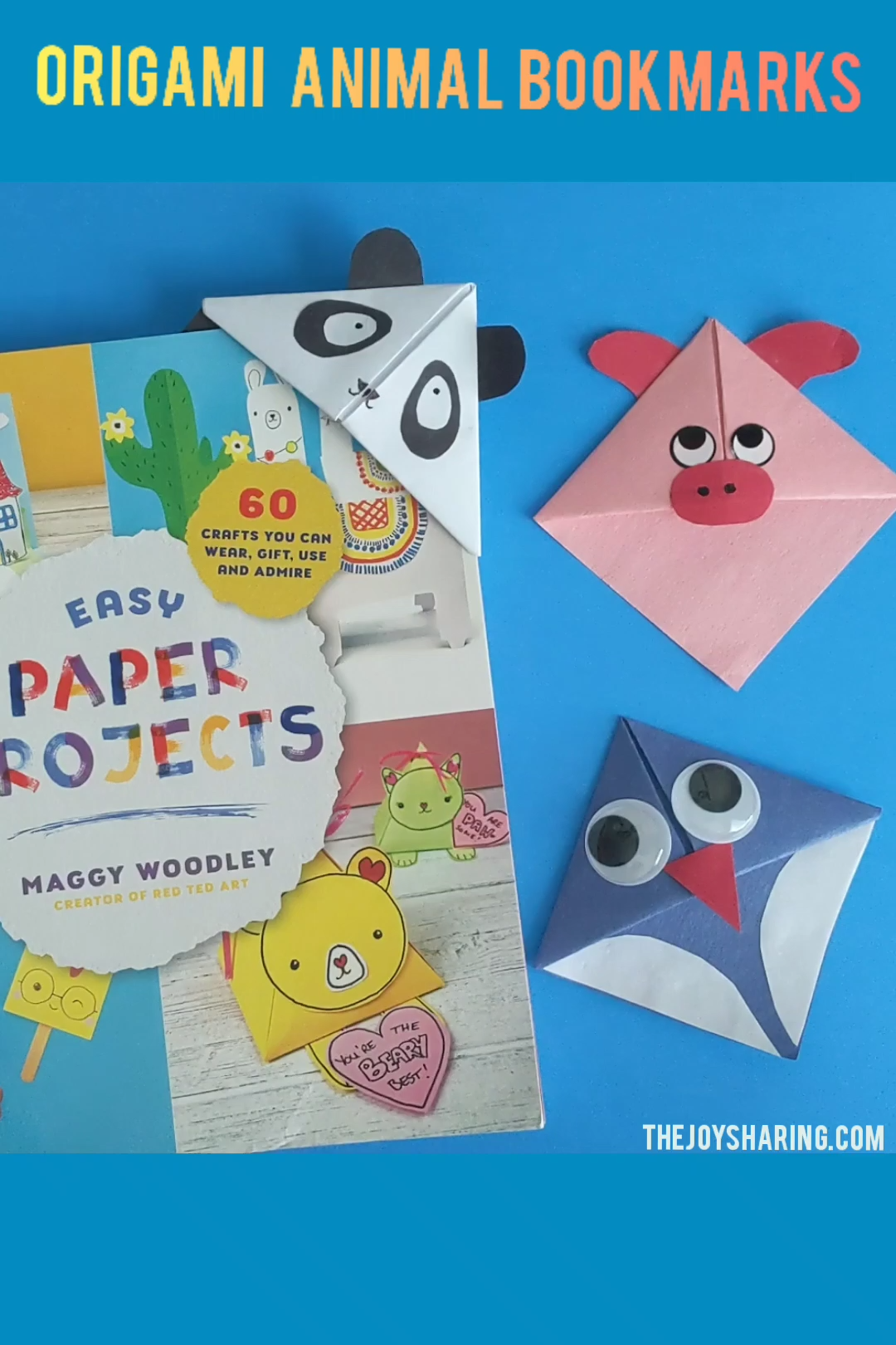 Photo of Origami Animal Bookmarks