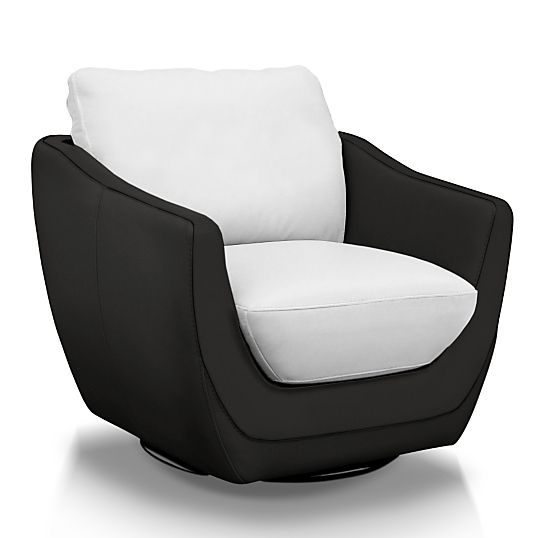 fauteuil pivotant cuir elvis c f contemporain design. Black Bedroom Furniture Sets. Home Design Ideas