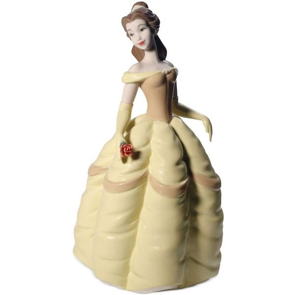 Nao by Lladro Disney Belle Collectible Figurine ($199) ❤ liked on ...