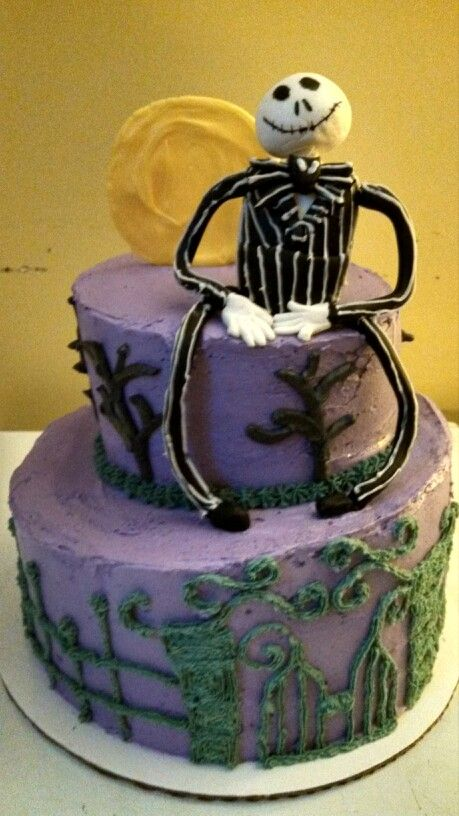 Nightmare before Christmas Cakes Pinterest