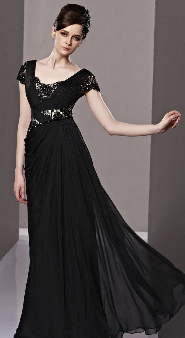 Beautiful  Black Long Sleeve Wedding Dresses ideas  Wedding