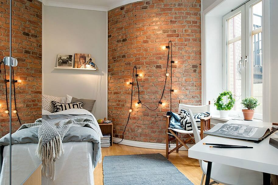 Top Interior Brick Wall Design Ideas Of 2018 in 2018 Creative Wall