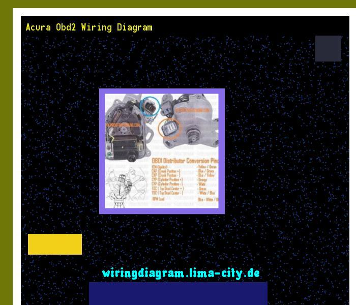 acura obd2 wiring diagram wiring diagram 174836 amazing wiring rh pinterest com OBD2B ECU Pinout Diagram OBD II Pin Diagram