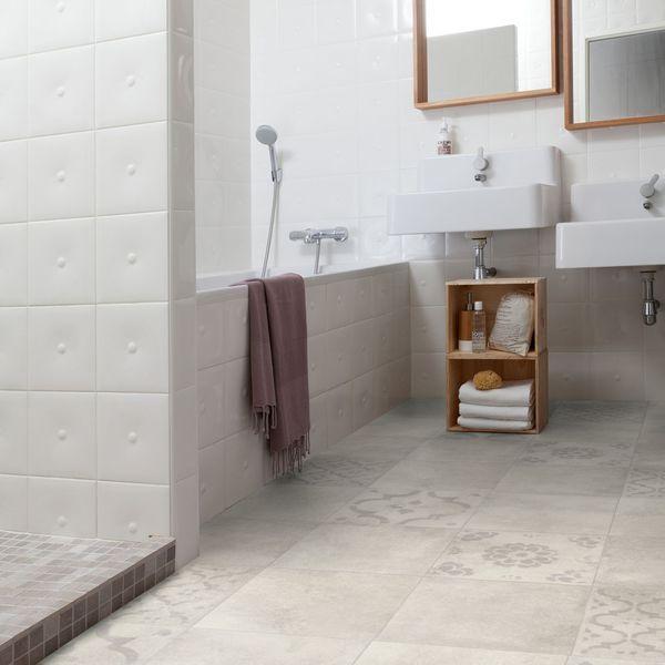 Sol salle de bains : carrelage, carreaux de ciment, parquet... | Sdb ...