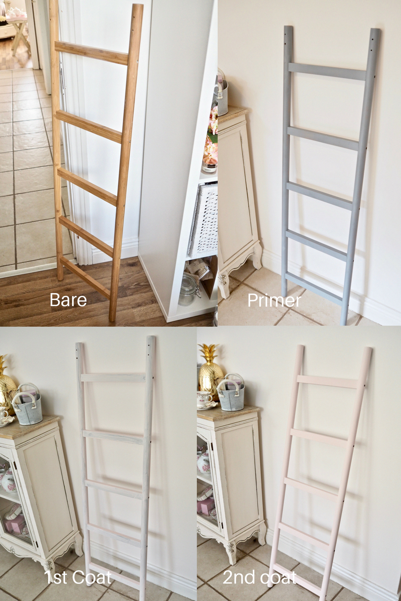 Ikea Hack How To Make A Blanket Ladder By Transforming The Ikea