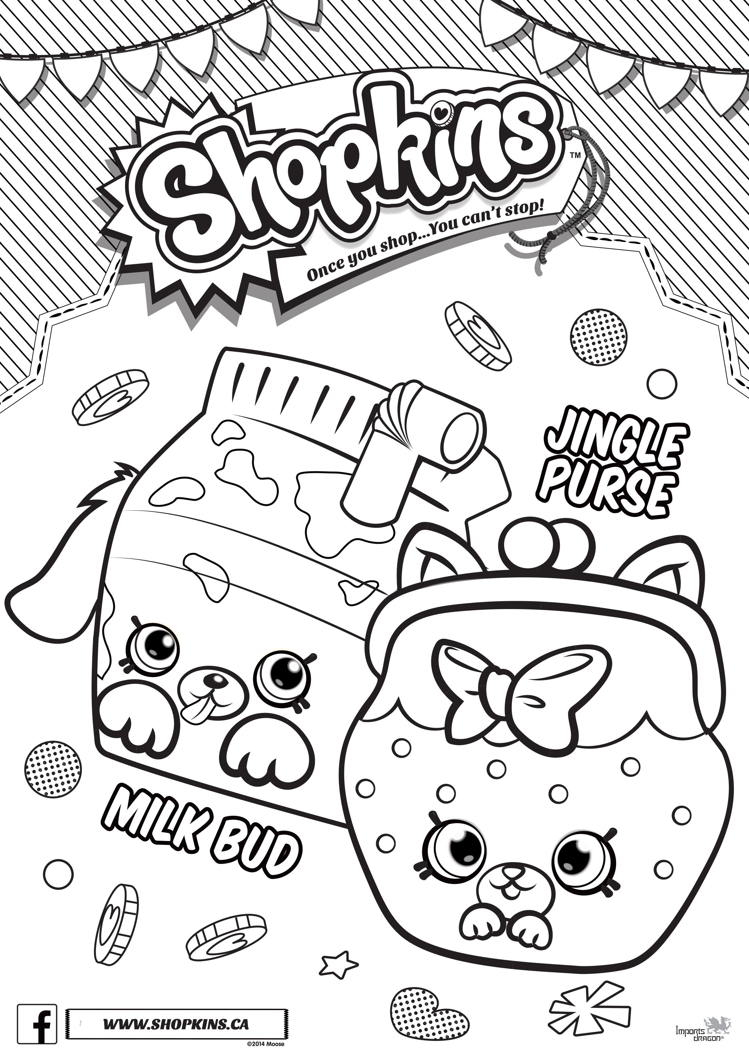 Shopkins Coloring Pages Coloring Pages Color Pgs For