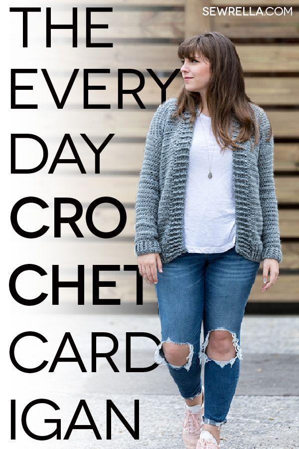 The Everyday Crochet Cardigan   Häkeln