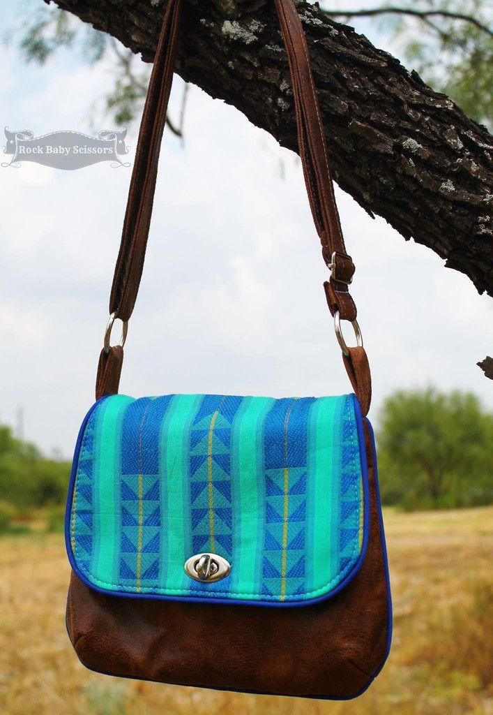 Free The Lilac Mini Messenger Pdf Sewing Pattern Bag