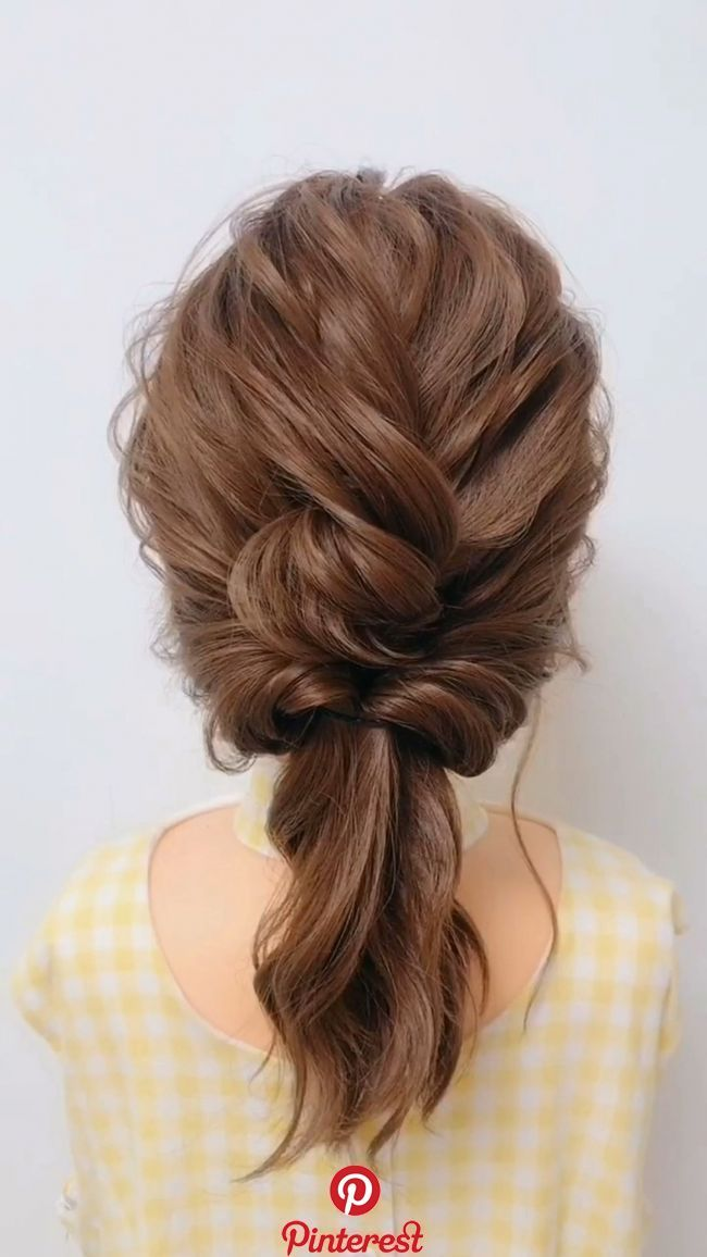 60 Easy Step By Step Hair Tutorials For Long Medium Short Hair Hair Upstyles Medium Hair Styles Hair Styles