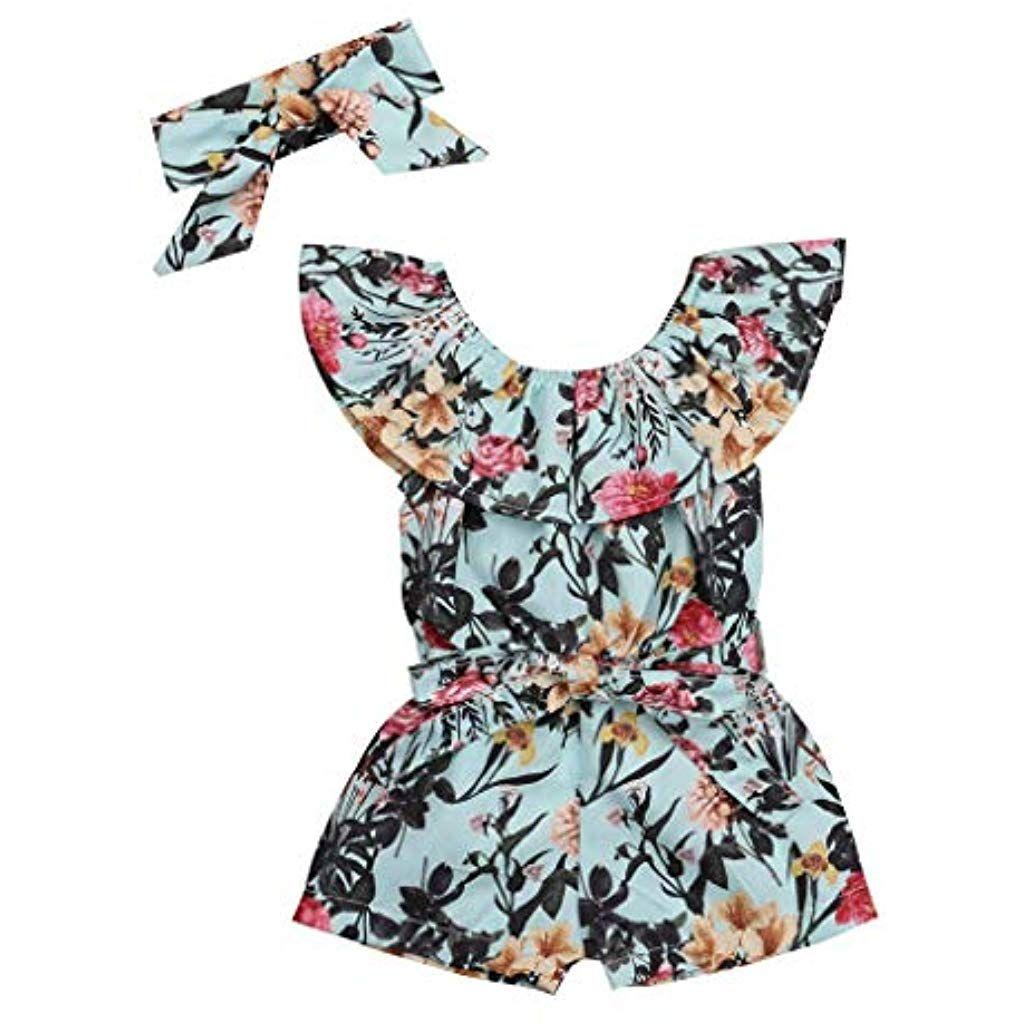 Baby Mädchen Kleid Kleidung Yanhoo Sommer Baumwolle ...