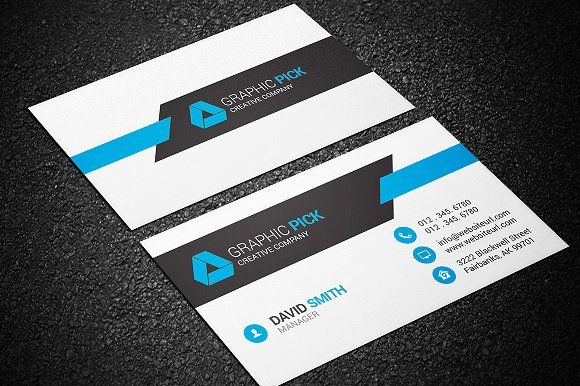 Modern Business Card Template By Made By Arslan On Graphicsauthor - Modern business card design templates