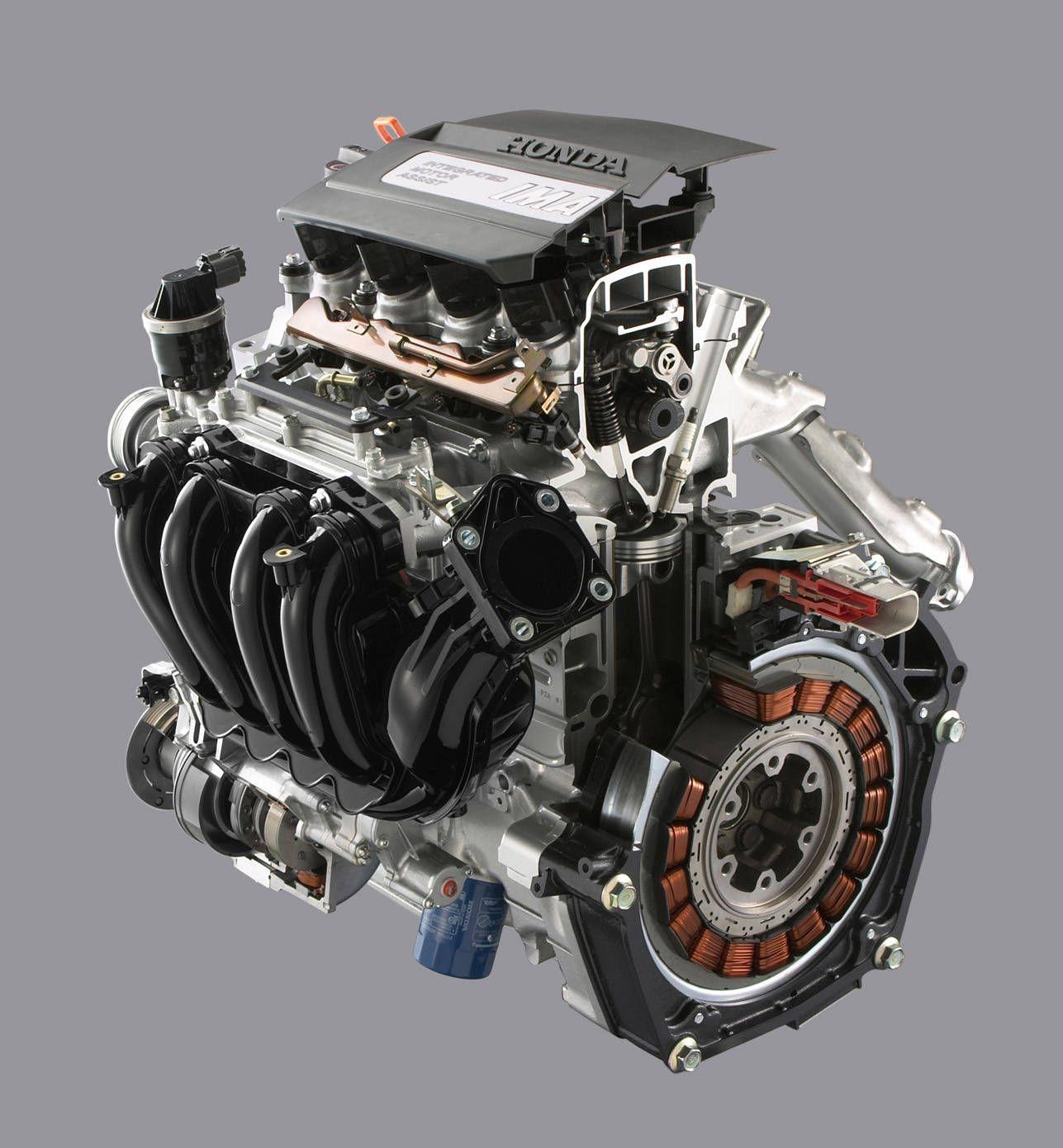 2008 honda civic hybrid motor and engine hybrid car honda civic rh pinterest com Cartoon Car Auto Gear Cars