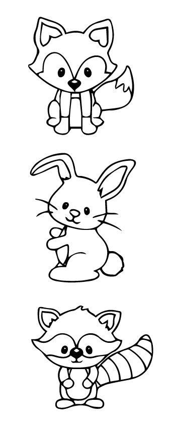 Pin En Drawing 8 Animals