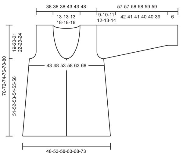 """Up North / DROPS 127-7 - Giacca DROPS all'uncinetto, in """"Safran"""". Taglie: Dalla S alla XXXL - Free pattern by DROPS Design"""