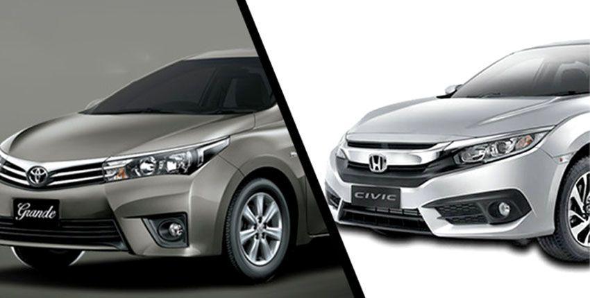 Toyota Grande And Honda Civic To Cost Rs 280 000 More As Increases Duties Honda Civic Civic Honda